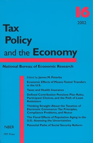 Tax Policy and the Economy, Volume 16