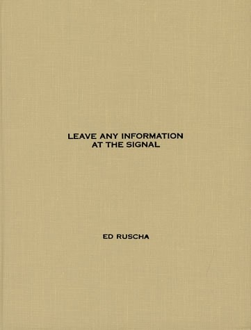 Leave Any Information at the Signal