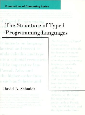 The Structure of Typed Programming Languages