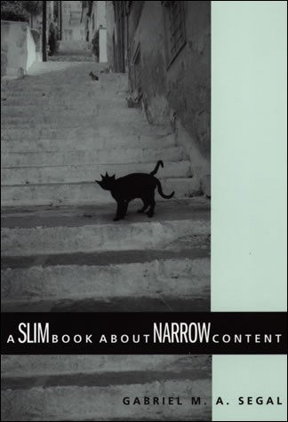 A Slim Book about Narrow Content