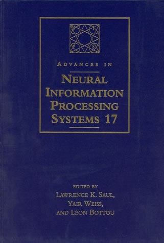 Advances in Neural Information Processing Systems 17