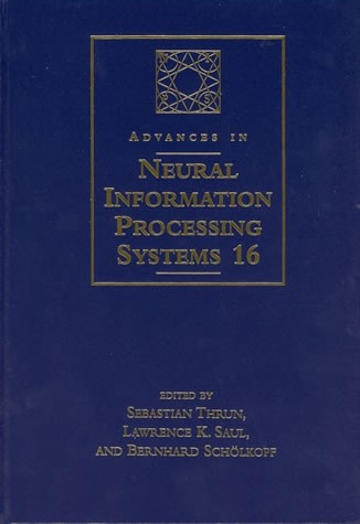 Advances in Neural Information Processing Systems 16