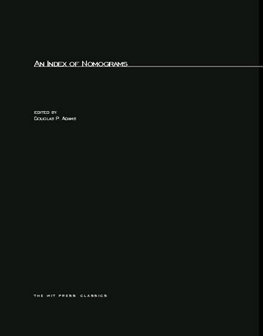 An Index Of Nomograms | The MIT Press