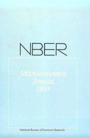 NBER Macroeconomics Annual 1993