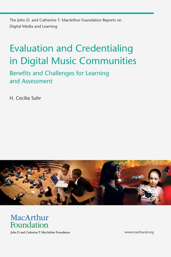 Evaluation and Credentialing in Digital Music Communities