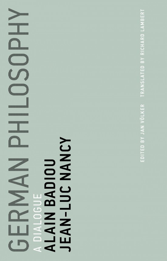 German Philosophy: A Dialogue Book Cover