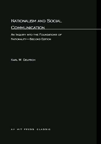 Nationalism and Social Communication, Second Edition