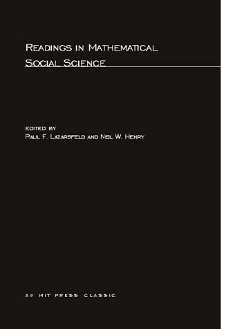 Readings in Mathematical Social Science