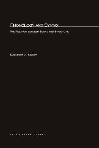 Phonology and Syntax