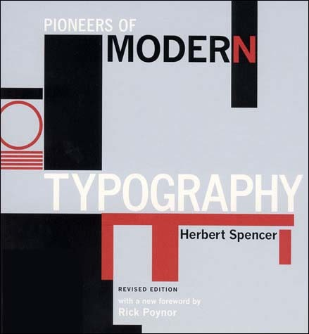 Pioneers of Modern Typography, Revised Edition