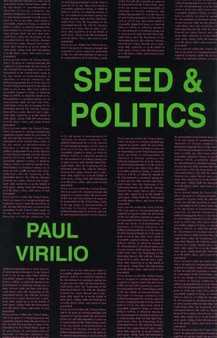 Speed & Politics