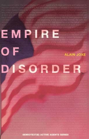 The Empire of Disorder