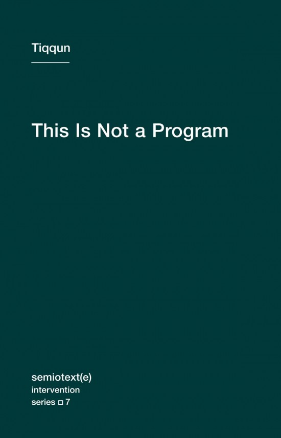 This Is Not a Program