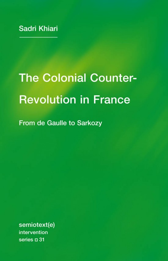 The Colonial Counter-Revolution
