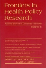 Frontiers in Health Policy Research, Volume 6