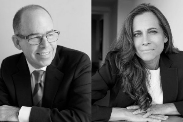 Michael Bierut and Jessica Helfand, editors and founders of Design Observer