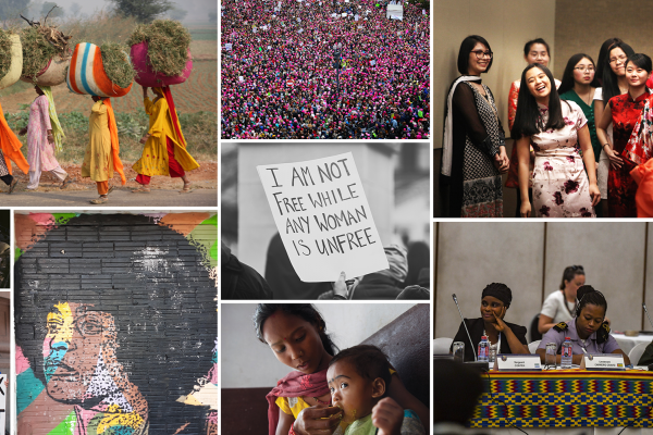 Women and Equality Collage
