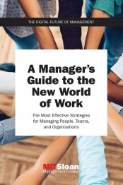 A Manager's Guide to the New World of Work